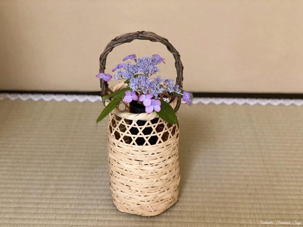 茶花 山紫陽花 有馬籠