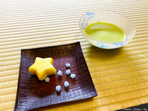 茶道 七夕 お菓子 抹茶