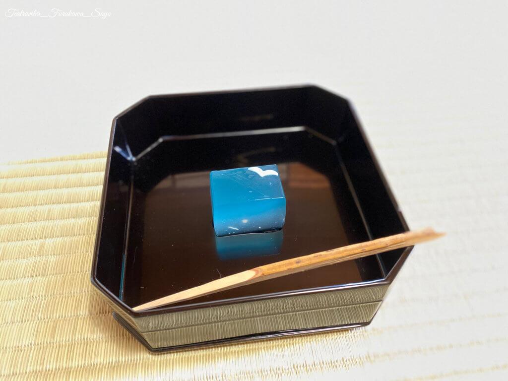 茶道 主菓子 縁高