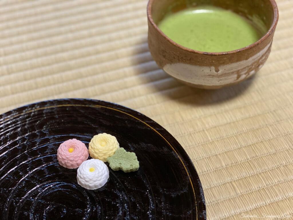 出羽の久寿 干菓子 葛菓子