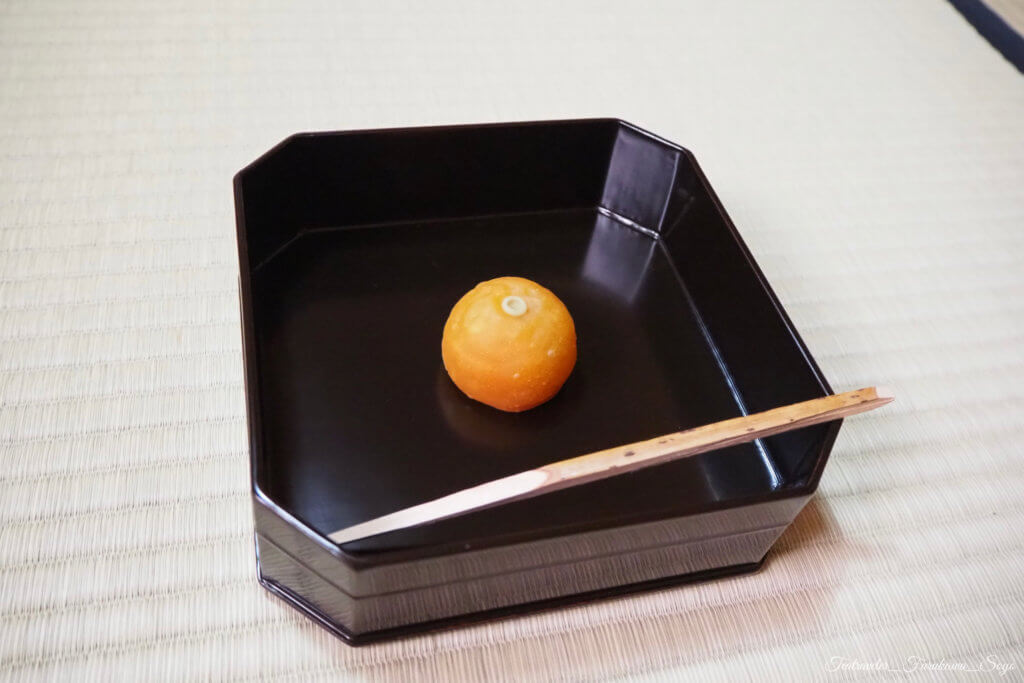 茶道 和菓子 11月