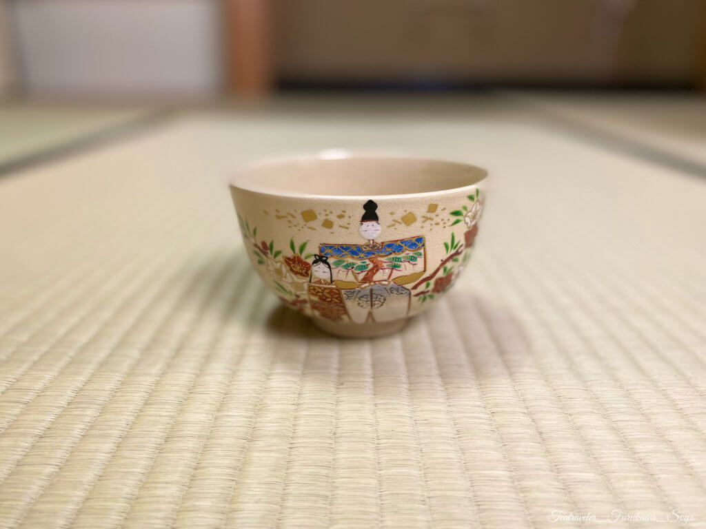 雛祭り 茶碗 茶道