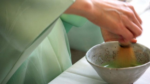 抹茶 茶道 テーブル